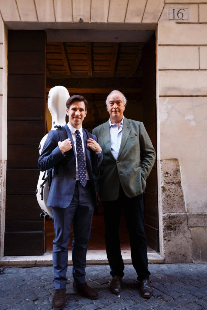 Roma, 16 10 2016 Guy Johnston and Prince Jonathan Pamphilj look forward to welcoming you to Rome for this exciting weekend ©Musacchio & Ianniello